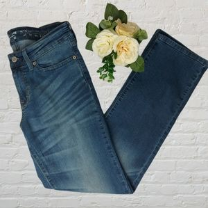 Levi's Modern Straight Mid Rise Jeans Size 27